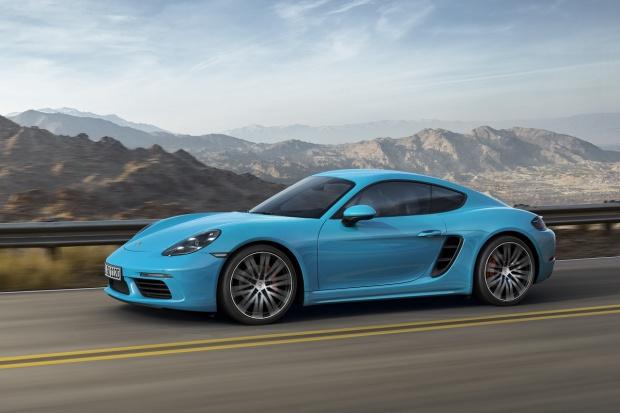 Bazowy model dla serii Porsche 718