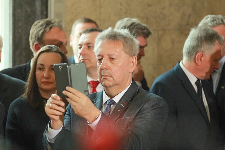 Wacław Czerkawski, wiceprzewodniczący Związku Zawodowego Górników w Polsce.