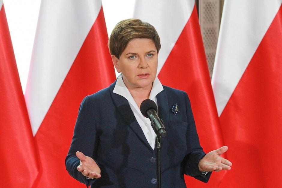 Beata Szydło, prezes Rady Ministrów
