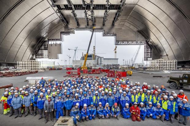 ArcelorMittal na budowie nowego sarkofagu w Czarnobylu
