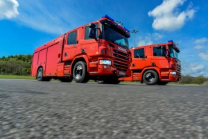 Duńska straż pożarna kupuje samochody w Bielsku-Białej