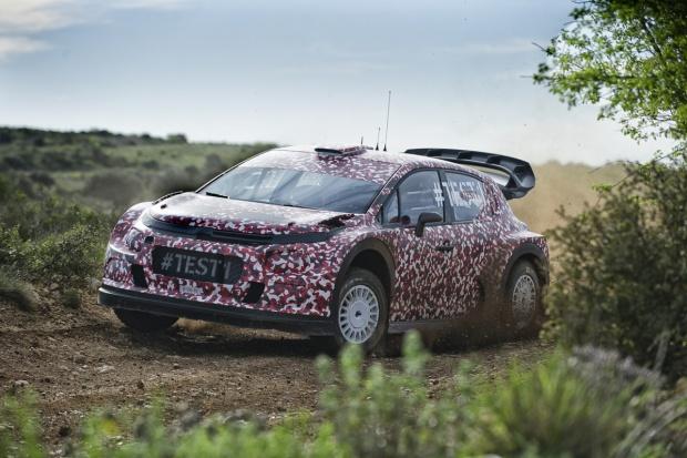 Testy nowego WRC Citroena
