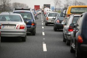 Korek gigant na autostradzie A4. Przez wolne w Niemczech?