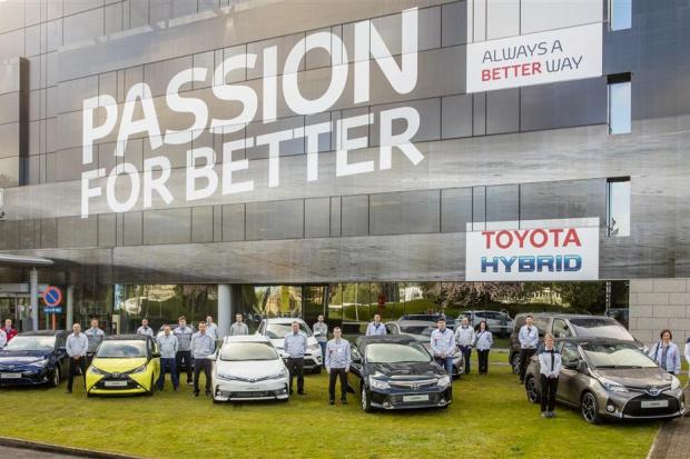 10 mln aut Toyoty z Europy