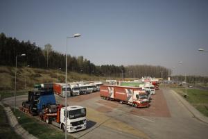 Trudny los kierowców na polskich autostradach