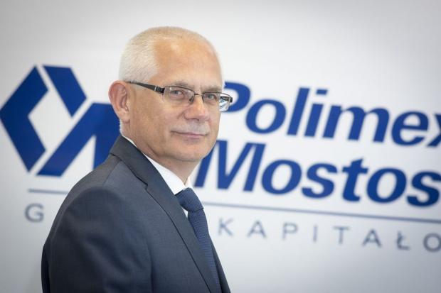Nowy prezes Polimeksu-Mostostalu dla wnp.pl: bez dużych przychodów nie mamy racji bytu