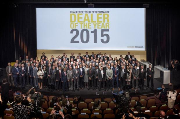 Renault nagradza dealerów