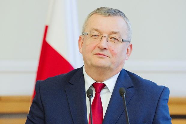 A. Adamczyk - minister infrastruktury na nowej drodze