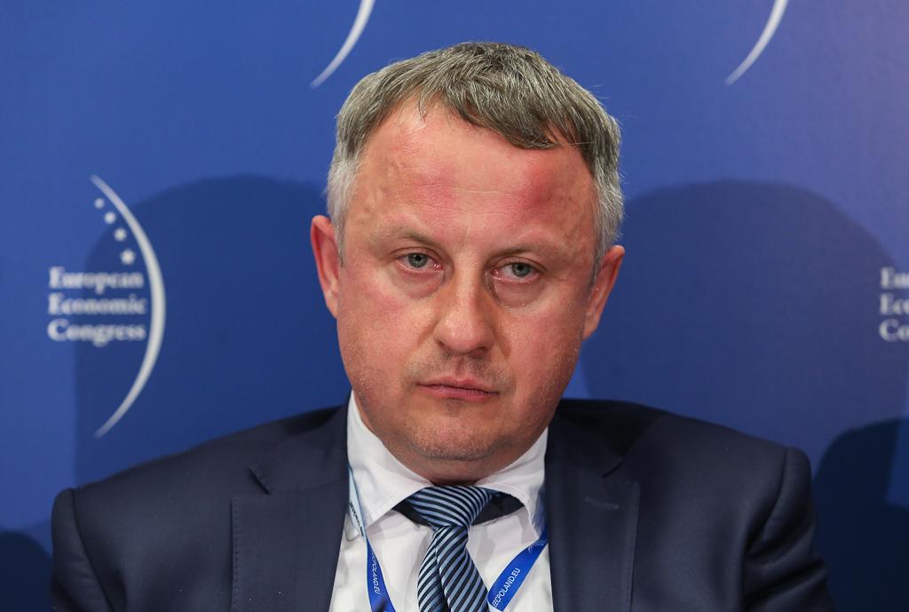 Paweł Mortas, zanim przez osiem miesięcy rządził ZAK był m.in. prezesem Rafako. Fot. PTWP
