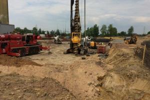 Rozpoczęto budowę fundamentów pod EC Fortum w Zabrzu