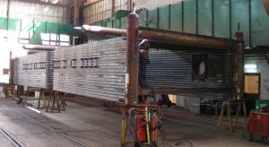Udana próba ciśnieniowa kotła na budowie elektrociepłowni w Zabrzu