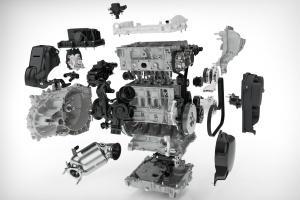 Układ hybrydowy T5 Twin Engine będzie wykorzystywał 3-cylindrowy silnik benzynowy. fot. Volvo