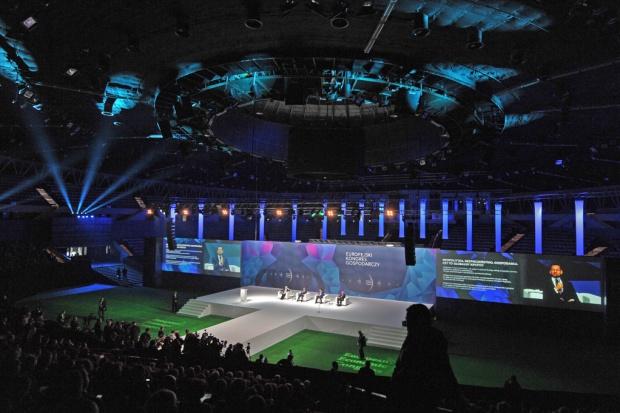 Europejski Kongres Gospodarczy 2016 zainaugurowano w Spodku. Fot. PTWP