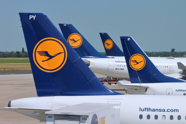 Rekordowe przewozy pasażerskie Lufthansy