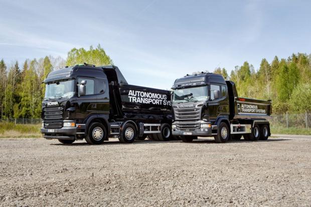 Autonomiczny transport wg Scania