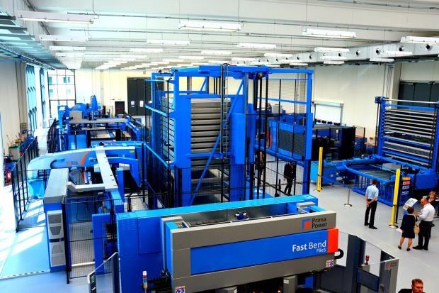 Nowa siedziba i centrum technologiczne Prima Industrie