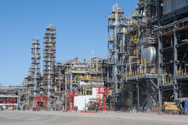 Lukoil uruchomił nowoczesny kompleks rafineryjny