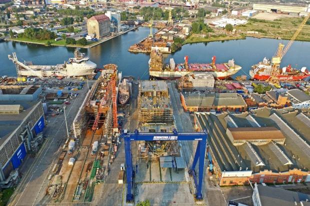 Stocznia Remontowa Shipbuilding zwodowała trawler dla Norwegów