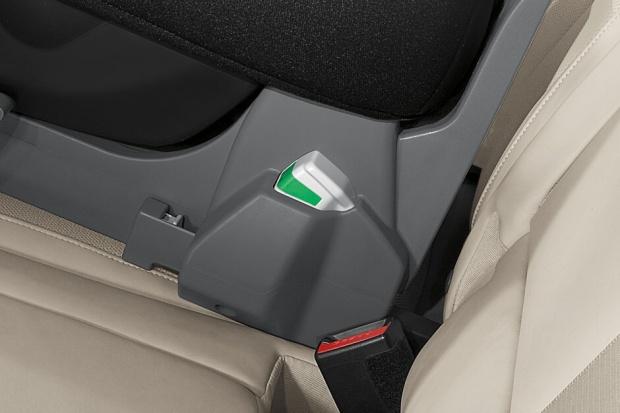 Kontrola ISOFIX'ów w BMW