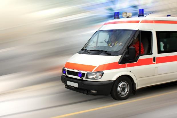Jedna osoba poparzona po rozlaniu się chemikaliów w Myszkowie