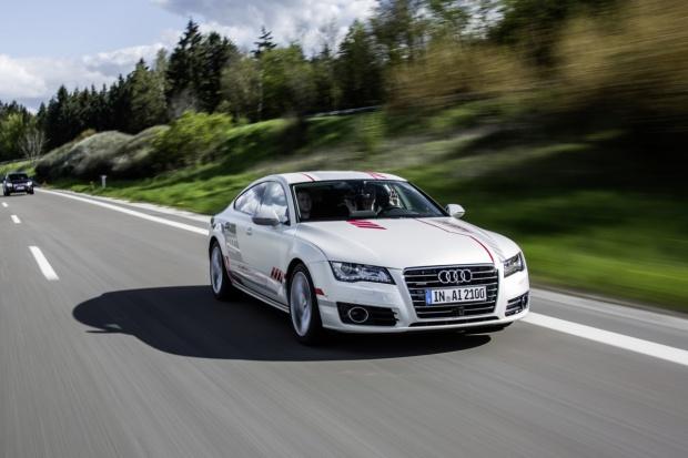 """Autonomiczny Audi """"Jack"""" i niecodzienne """"kompetencje"""""""