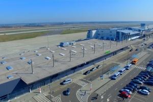 Terminale pasażerskie z lotu ptaka. Fot. Mat. pras.