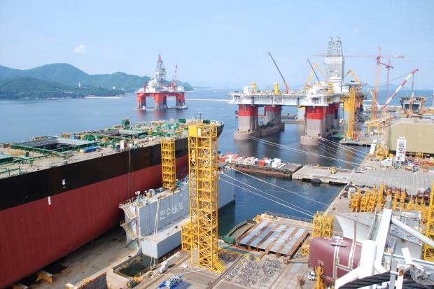 Wielka pomoc publiczna dla przemysłu stoczniowego Korei Płd.