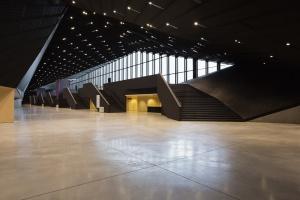 MCK Katowice, foyer.