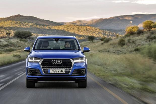 Audi w górę