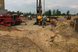 Budowa fundamentów nowej EC Zabrze  - zdjęcie Fot. mat. pras.