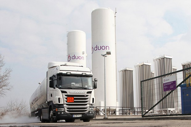 Pierwszy transport LNG z Litwy do Polski