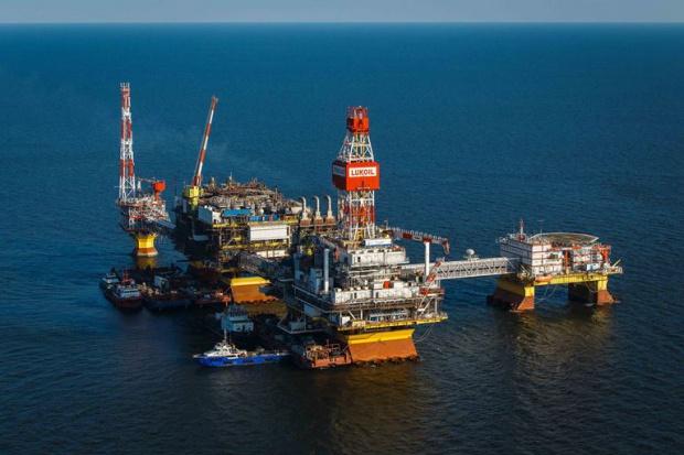 Lukoil wierci na Morzu Kaspijskim