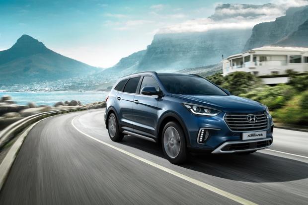 Hyundai ulepszył model Grand Santa Fe