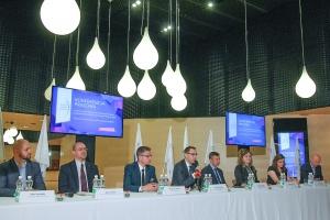 Konferencja prasowa podsumowująca Europejski Kongres Gospodarczy. Fot. PTWP (Michał Oleksy)