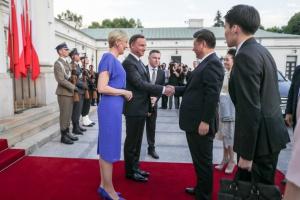 Prezydent Chin w Polsce. Rozmowy o rozwoju handlu i inwestycji