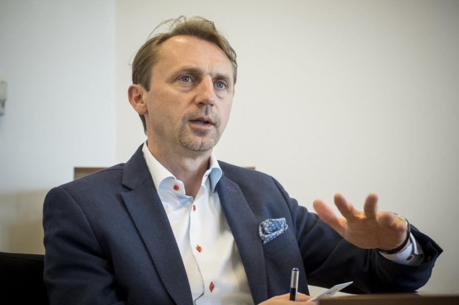 Dariusz Blocher. fot. PTWP (Piotr Waniorek)