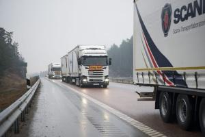 Scania testuje sieć 5G