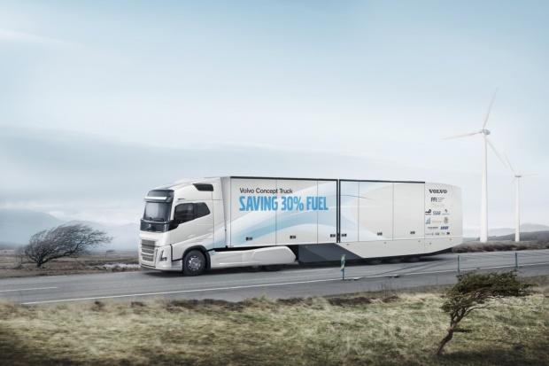 Kocepcja efektywności wg Volvo Trucks