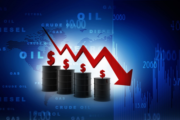 """Ceny ropy w USA rosną, ale w ciągu 2 poprzednich sesji """"zanurkowały"""" o 7,5 proc."""