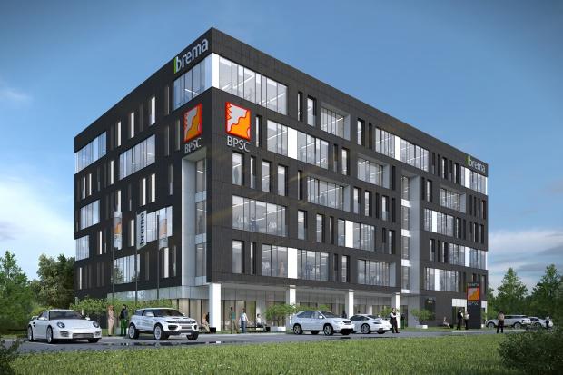 Eiffage buduje biurowiec w Katowicach
