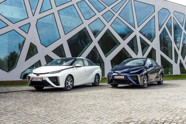 Wodorowa Toyota w kolejnym europejskim kraju