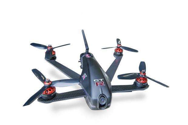 Dron vs GT-R