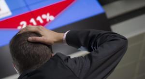 Giełda mocno zaszkodziła prognozom dotyczącym koniunktury