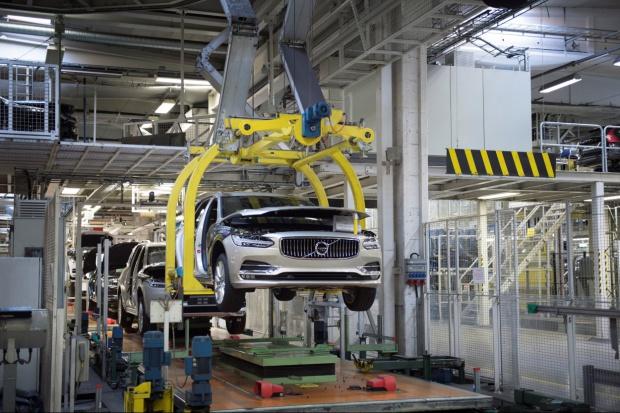 Volvo V90 zjechało z taśmy produkcyjnej