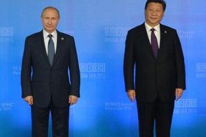 """Putin w Pekinie: umacnia """"strategiczne partnerstwo"""""""