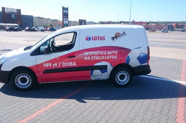 Wynajem aut na stacjach Lotos