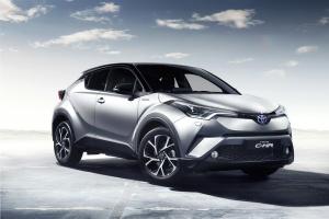 Toyota C-HR: wyraz swobody konstruktorów