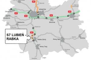 """Ruszy budowa S7 """"zakopianki"""" z tunelem za blisko 1 mld zł"""