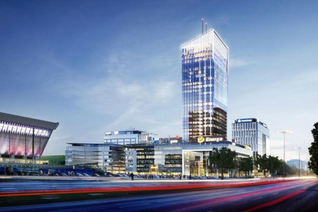W Gdańsku powstaje 180-metrowy biurowiec