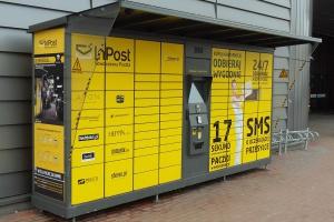 InPost dostarczył w 2017 roku 59,71 mln sztuk paczek